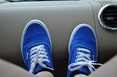 Royal Blue Vans