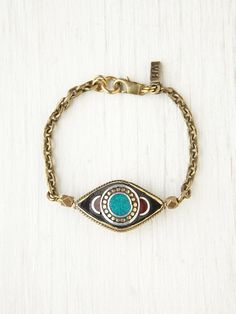 vintage looking evil eye