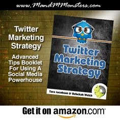 Helpful tips and resources for getting follows, favorites, and retweets that lead to sales!   EBOOK: Twitter Marketing Strategy | Advanced Tips Booklet For Using A Social Media Powerhouse
