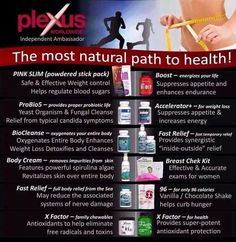 #plexus The most natural path to health