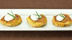 "Zucchini ""Crab"" Cakes   Yoga International"
