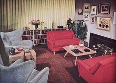 1950s Living Room - Heywood Wakefield by American Vintage Home, via Flickr