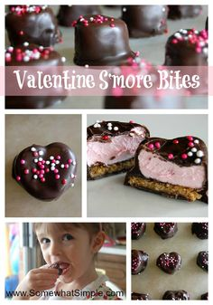 Heart Shaped S'mores- perfect for Valentines Day