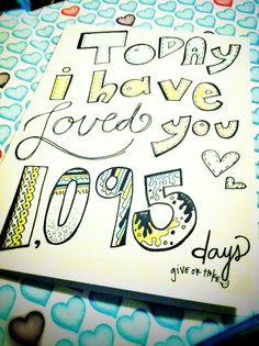 On 11-05-13 (of the day we met), our number will be 1,883 days :) and on our anniversary this year that number will be 1,917 days :)