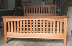 Craftsman Style Bed