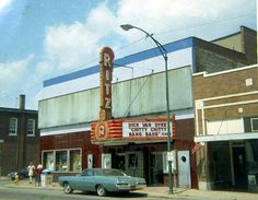 More of my home town (Belleville, IL). I visited this theater many times. Spent a lot of Saturday afternoons there.