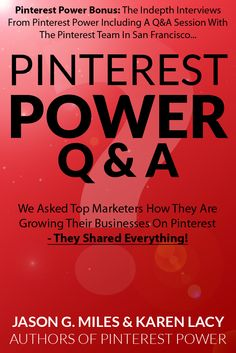 Pinterest Power Book Buyer Bonus - in-depth interviews with Pinterest, Modcloth, Burdastyle and more. See more at http://marketingonpinterest.com/2012/10/19/pinterest-power-book-buyer-bonuses/