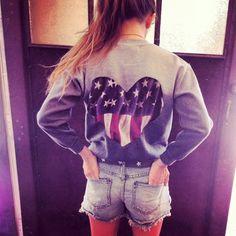 Americana back