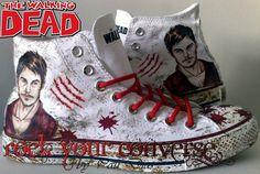 The Walking Dead  Daryl Dixon   converse shoe
