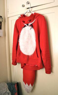 DIY Fox Costume! #Halloween