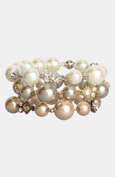 Gorgeous Givenchy bracelets. #perles #pearls #pérolas