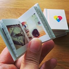 Printstagr.am TinyBooks! Teeny tiny magnetic hard bound books filled with your instagram photos.