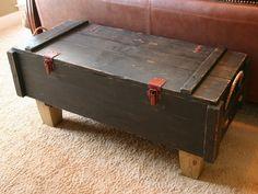 ammo box bench