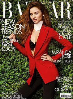 Miranda Kerr in Harper's Bazaar UK August 2012 Cover