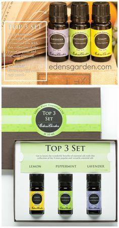 Top 3 Essential Oils set