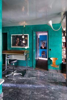 Просторная, эклектичная квартира в Париже | Дизайн интерьера, декор, архитектура, стили и о многое-многое другое