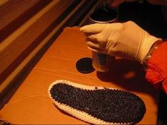 Perfect Rubber Sole for Crochet Slippers, Boots Whatever.