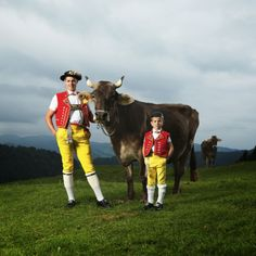 Traditional costume, Appenzell.
