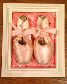 Framed Pointe Shoes