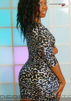 Ayisha Cottontail leopard print dress