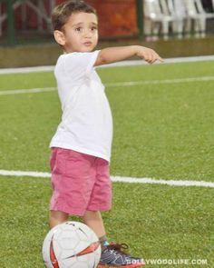 Aamir Khan's little son Azad on the football field - View pics!  #AamirKhan #AamirKhanson #Azad #AbhishekBachchan #KiranRao #AzaadKhan