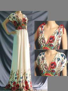 Plus Size Dress\  Maxi Dress Women Plus Size Clothing by myuniverse