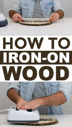 If you're looking for tips and tricks on how to perfectly iron on wood this tutorial will definitely help you out. #diy #crafts #teencrafts #projects #diycrafts #diyprojects #fundiys #funprojects #diyideas #craftprojects #diyprojectidea #teencraftidea
