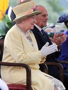 The Queen and Philip in Perth, Scotland July 2012