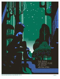 Hernan-Valencia-Pains-Of-Being-Pure-At-Heart-Kansas-City-Poster