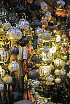 Marrakech market place