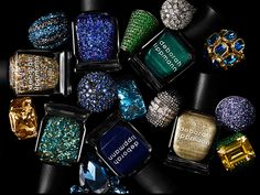 MUG SHOT: Gem and the holograms! The sparkly craziness of Deborah Lippmann's Jewel Heist Collection for Fall 2013 (swatches)