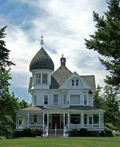 the Ritz Mansion in Walla Walla, WA