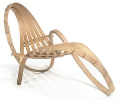 Chaise Longue no 4 by Tom Raffield