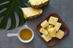 Exfoliate your skin and clear out your pores with homemade pineapple cleanser.