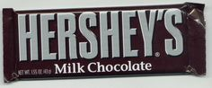 i love hershy bars. i could eat chocolate every day!!!!!