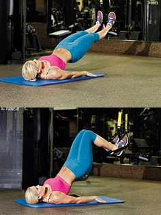Work your hamstrings with this HAMSTRING CURL exercise with the TRX!