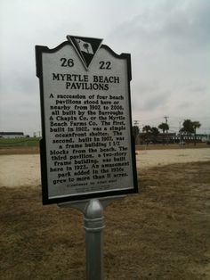 Myrtle Beach sign