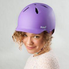 Bern Bandita Matte Purple - New 2014 Range