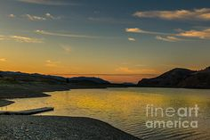 Sunrise Over Mackay Reservoir:  See more images at http://robert-bales.artistwebsites.com/