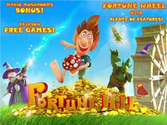 Fortune Hill slot Game!   Discover massive payouts and great features in this excellent video slot machine | Play for free here or get our amazing casino bonuses to play for cash. Good luck!