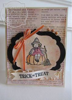 Stampin' Up! Halloween  by Elizabeth Price at Seeing Ink Spots
