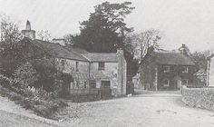 Main street of Sawrey photographed by Beatrix's father in May 1913