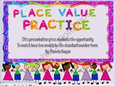 Place Value Practice from Lilly's Grace on TeachersNotebook.com -  (22 pages)  - This activity is 22 opportunities for student practice. Each slide contains models of hundreds, tens and ones. The student must count the blocks. The student will then choose the correct amount and the question box will immediately tell them if they are c