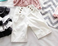 Nautical Shorts Tutorial