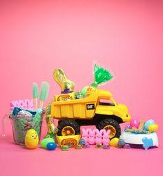 Cute Easter basket idea for a little boy