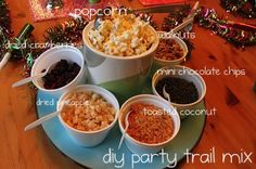 DIY party trail mix for a kid-friendly NYE party