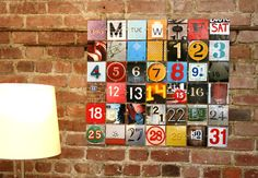 Make a calendar with a collection of photos