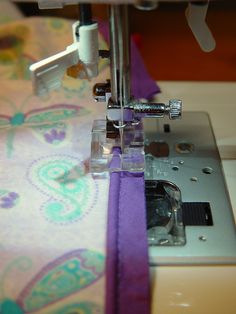 Sewing in Piping Tut