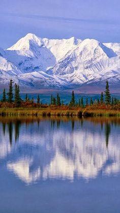 Majestic Reflections Alaska  USA