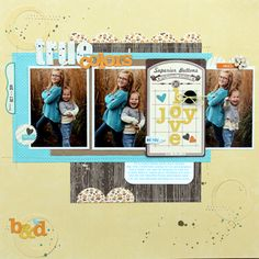 melani blackburn, galleries, layout idea, true colors, layout design, layout inspir, buttons, scrapbook layout, cards